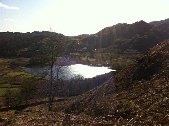 National Trust Campsite - Great Langdale: walk to Blea Tarn