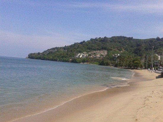Bamboo Beach Hotel & Spa: Playa cercana al Hotel.