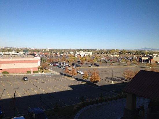 Holiday Inn Express & Suites Great Falls : View from room 425