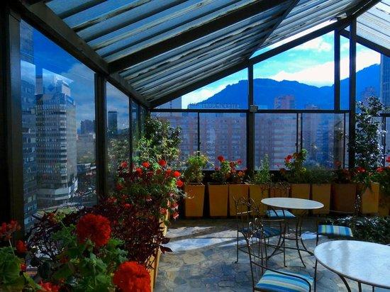 Hotel MS Oceania: terraza