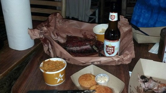 Hill Country Barbecue Market: Dinner was real good!
