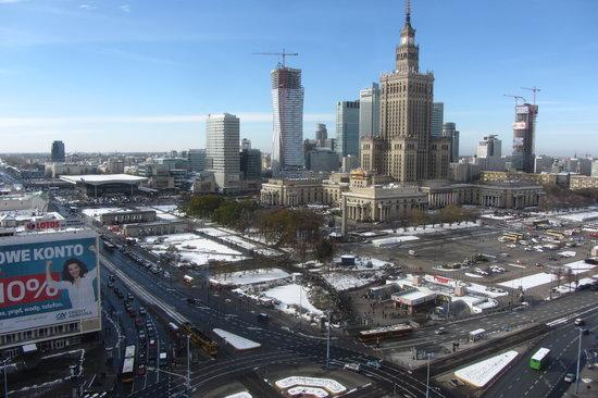 Novotel Warszawa Centrum: vue depuis la fenêtre de la chambre