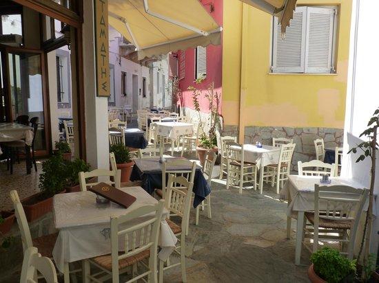 Stamatis Restaurant : Picturesque setting