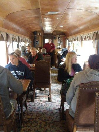Georgetown Loop Historic Railroad: bar car
