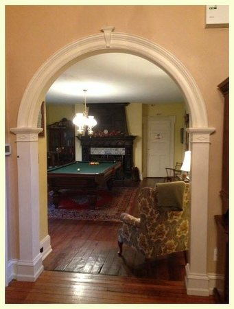 Hamanassett Bed & Breakfast : Billiard Room