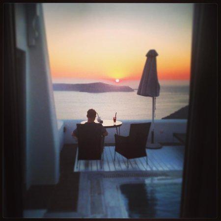Homeric Poems: chill sunset