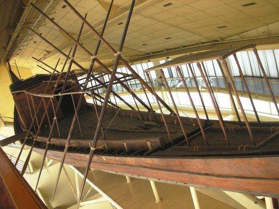 Musée de la barque solaire : Museo della barca solare di Cheope