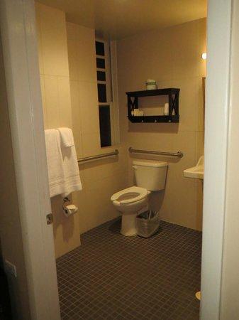 Hotel Belleclaire: Toilet