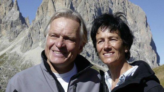 Hotel Garni Albona: Kristin und Richard
