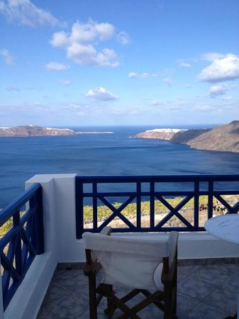 Imerovigli Palace Hotel: Fantastic View from Rooms
