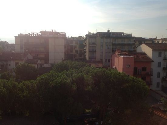 Hotel Grifone Firenze: вид из окна номера во двор отеля