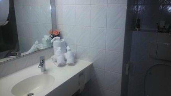 BEST WESTERN PLUS Parkhotel Erding: The bathroom