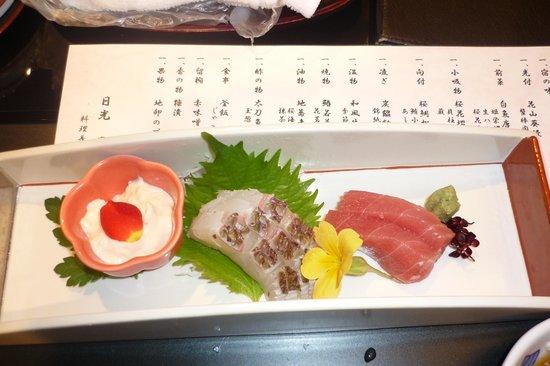 Nikko Hoshinoyado: Repas du soir