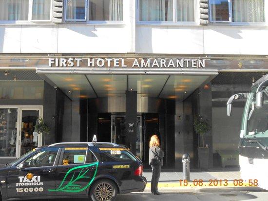 Clarion Hotel Amaranten: Fachado do Amaranten
