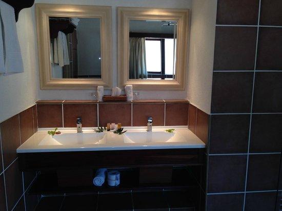 Idube Game Reserve Lodge: Bathroom