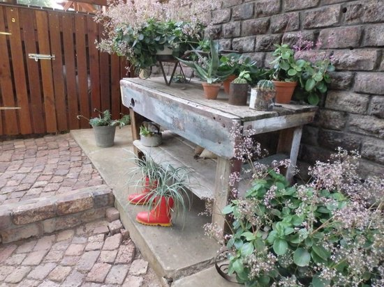 Die Fonteine: de tuin