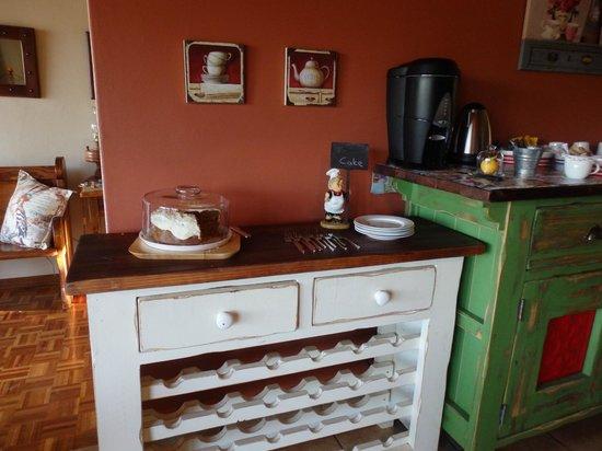 Die Fonteine: ontbijtruimte