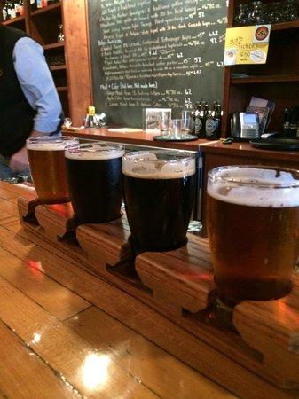 Stormcloud Brewing Company: Flight of beers!