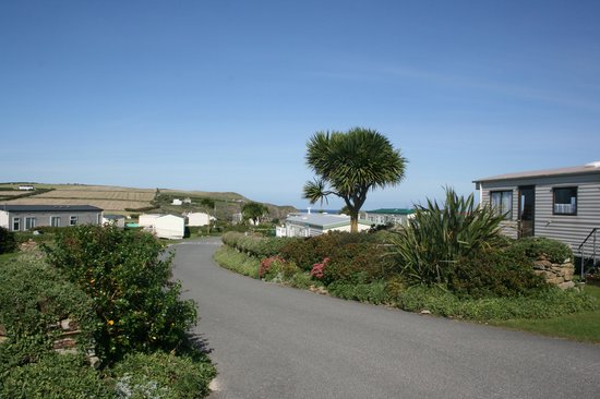 Mother Ivey's Bay Holiday Park: the site