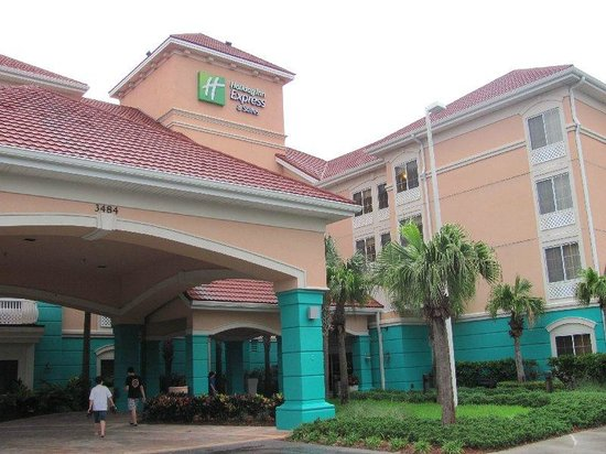 Holiday Inn Express Hotel and Suites Orlando-Lake Buena Vista South: entrada / entrance