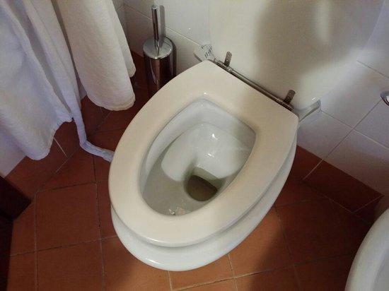 Relais La Corte di Bettona: Tavoletta del wc rotta
