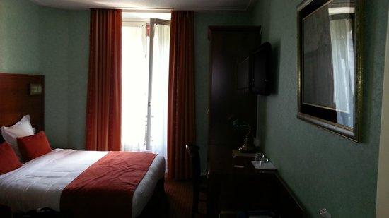 Hotel Terminus Lyon : scorcio camera
