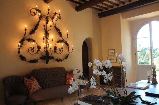 Castello di Casole Private Estate & Spa: Reception/lounge