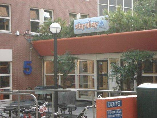 Stayokay Hostel Amsterdam Vondelpark: Fachada