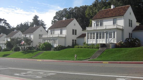 Inn at the Presidio: charming Presidio architecture