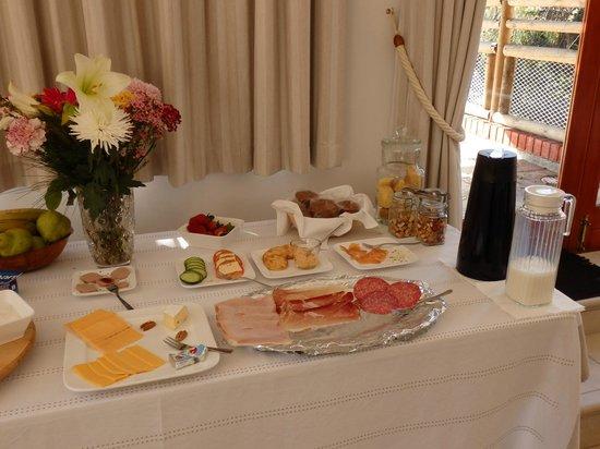Hottentots Mountain View : ontbijt
