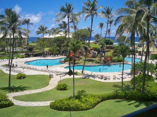 Kauai Beach Resort : View from our room