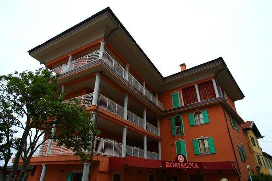 Hotel Romagna: entrée de l'hôtel
