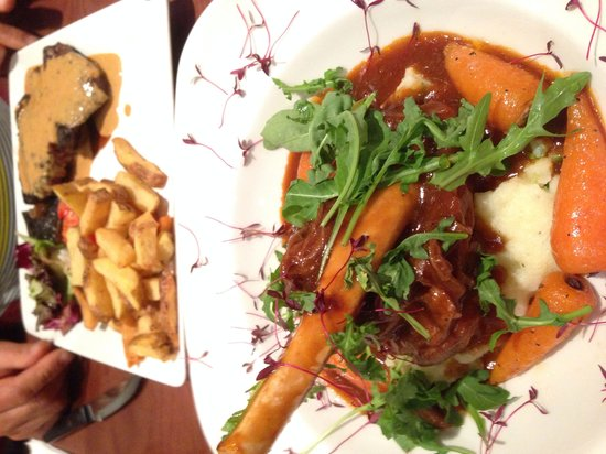 The Bank Bar and Brasserie: Lamb shank