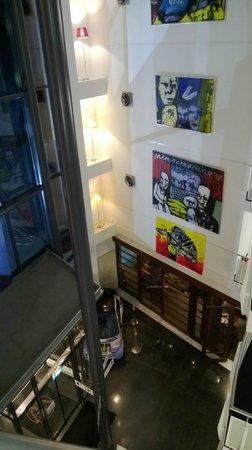 WestCord Art Hotel Amsterdam: Hall
