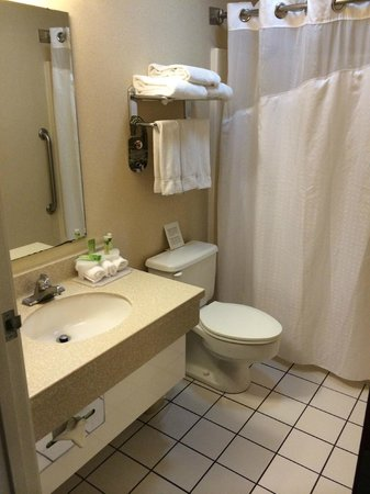 Comfort Inn Madison - Downtown: Bathroom