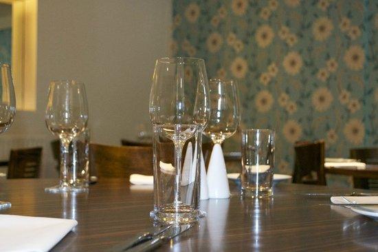 Peppercorn Restaurant: Table setting
