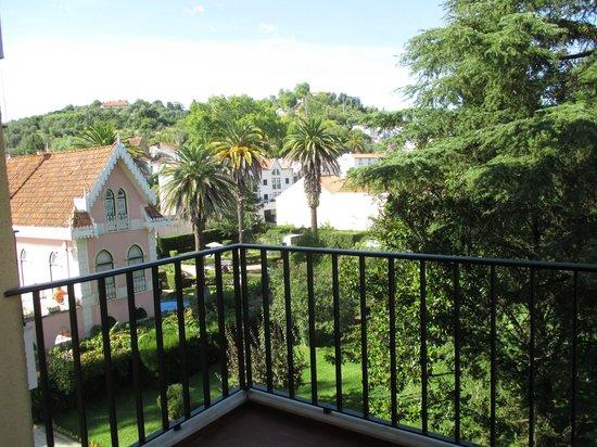 Hotel dos Templarios: View from my room's balcony