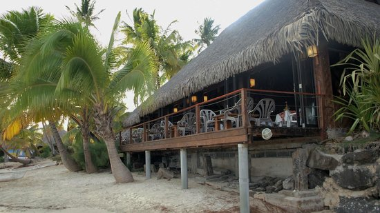 Hotel Les Tipaniers: Restaurant de plage