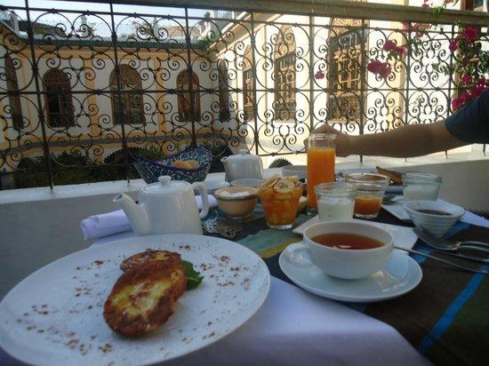 Palais Amani: Desayuno!