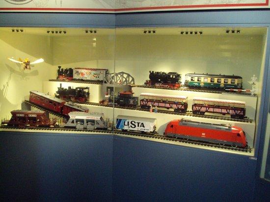 Nuremberg Toy Museum (Spielzeugmuseum): trains