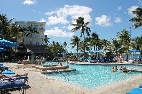 Key Largo Bay Marriott Beach Resort The Pool Area