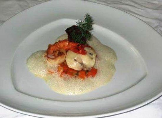 Gspan Arosa: Fisch und krustentier