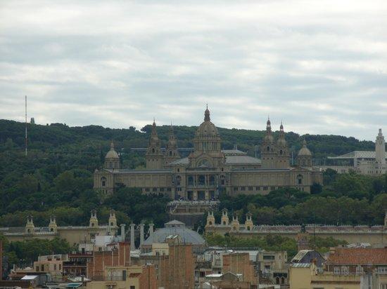Expo Hotel Barcelona: vistas desd la terraza