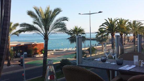 Aeva Hotel : view from restaurant
