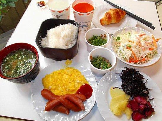 Hotel Econo Kanazawa Ekimae : 朝食