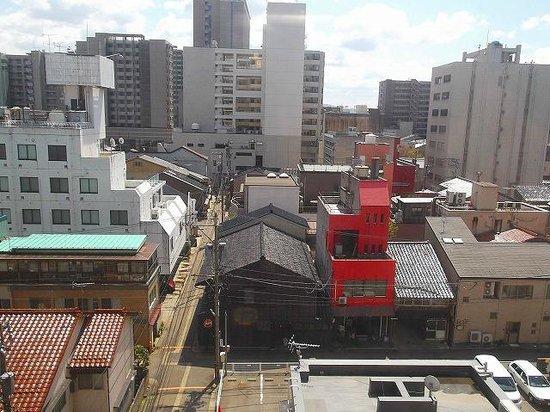 Hotel Econo Kanazawa Ekimae : 部屋からの眺め