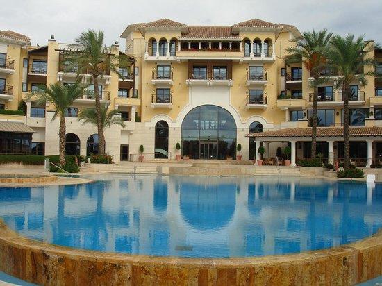 The Residences at Mar Menor Golf Spa: rear of hotel