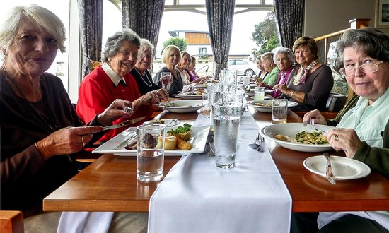 Somerville Hotel: Eating in the Hotel's superb restaurant