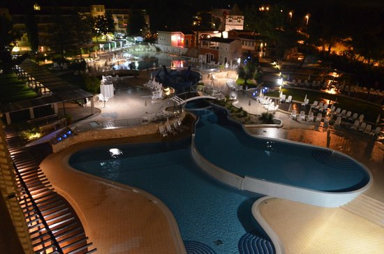 Sol Garden Istra: Pool at Night