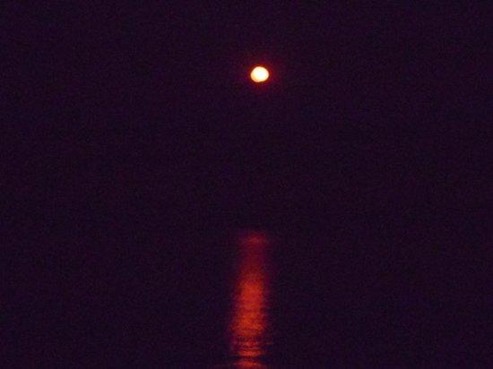 Makuzi Beach Lodge : The amazing red moon